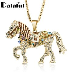 Horse Necklace For Women Gift