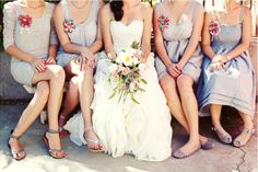 Pick �n� Mix your Bridesmaid Dresses! The Mix Match Wedding Trend