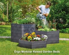 Ergo modular Raised Garden Beds - smart and easy to assemble