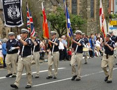 THE 12TH OF #JULY #PARADE,#BELFAST,#NORTHERN #IRELAND.