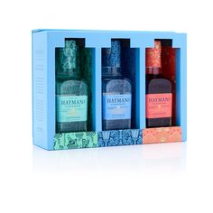 Hayman's True English Gin on Packaging of the World - Creative Package Design Gallery Custom Plastic Bags, English Gin, Paper Carrier Bags, London Dry Gin, Packaging Manufacturers, Gin Bottles, Miniature Bottles, Luxury Packaging, Packaging Solutions