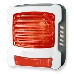 Diffuseur sonore et lumineux incendie