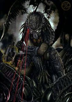 Httpwallpaperformobile15053alien vs predator backgrounds slayer predator fighting against hordes of aliens this predator specializes melee attacks and uses acid voltagebd Choice Image