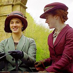 Lady Sybil  | More Downton Abbey photos here:  http://mylusciouslife.com/historical-style-downton-abbey-photos/