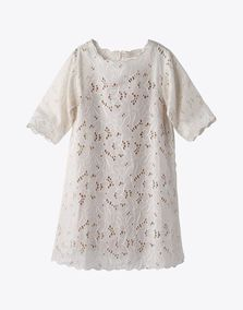 Something like this would be cute for flower girl Anouk -- Stella McCartney