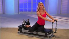 Here's a short video clip showing many of the Pilates exercises that you can do on the Pilates Power Gym. Total Gym Workouts, Pilates Workout Videos, Pilates Reformer Exercises, Pilates Barre, Easy Workouts, Pilates Studio, Lazy Girl Workout, Step Workout, Workout Plans