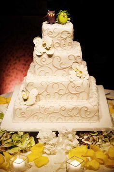 Sara & Bryan Wedding Cake