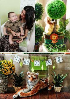 Incredible Jungle Safari First Birthday
