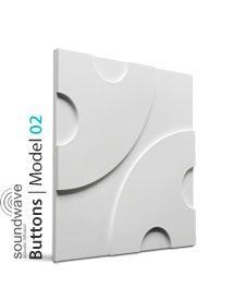 PANEL DEKORACYJNY 3D BUTTONS MODEL 02 LOFT SYSTEM