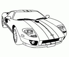 244 best car coloring pages images car drawings cars coloring Ford GT40 MK1 supercar ford gt coloring pages free online cars coloring pages for kids line art
