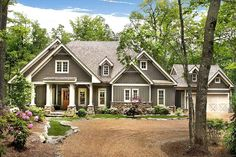Cozy Cottage with Dual Master Suite - 15792GE | Architectural Designs - House Plans