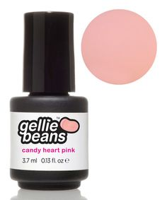 Love this Candy Heart Pink Gel Nail Polish by gelliebeans on #zulily! #zulilyfinds