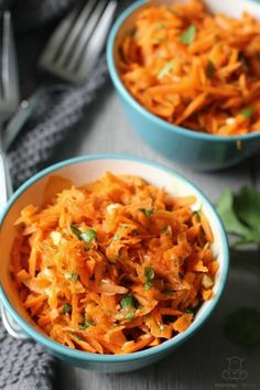 "This spicy carrot salad is one of my favorite ""go to' quick and easy recipes. Double the recipe for family because you'll want to eat half yourself."