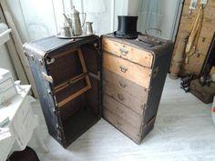 Überseekoffer - Antiker Übersee-Koffer - ein Designerstück von Cajupi bei DaWanda