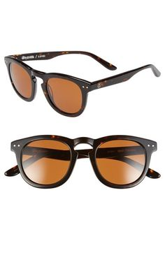 Men s Stussy  Luigi  47mm Sunglasses - Classic Tortoise  Brown Stussy S,  Tortoise 99378057cc