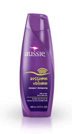 Aussome Volume Shampoo - Love this shampoo.