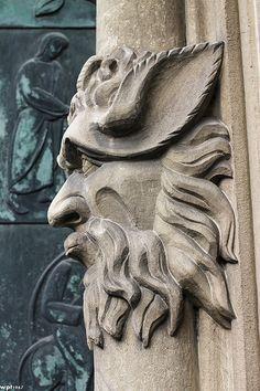 Guardian ~ Church portal  ~ Dortmund ~ Germany