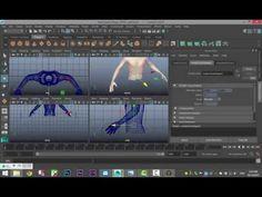 Maya 2016 tutorial : The basics on how to animate clothing - YouTube
