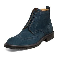 I love this color in this design! Geesh, you can't get this kind of design in Malaysia~ (Gaffney by Florsheim Shoes)