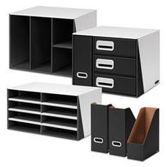 Premier 6 Piece Desktop Organization Kit