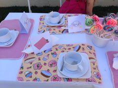 Chá de Boneca da Mariana