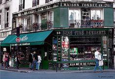 """""""A la mère de Famille"""", Paris's oldest candy and chocolate shop, founded in 1761, and still operating in its original location, is a marvellous little store that hasn't changed much over the past 250 years."""