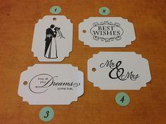 50 Wedding Wish Tree Tags YOU CHOOSE, Wedding Decor, Wedding Shower, Wedding Favors. $6.75, via Etsy.