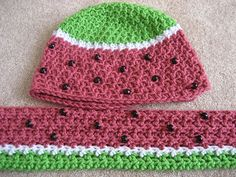 Gege Crochet: Winter Watermelons part deux- free pattern!