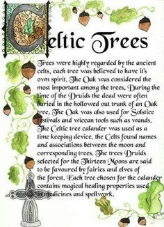 Celtic Trees