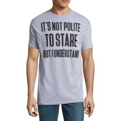Novelty Promotional Short Sleeve Graphic T-Shirt - JCPenney