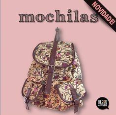 Mochila corujinhas #mochila #mochilas #mochilacorujinha #decorzziello
