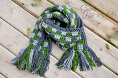 Ravelry: Griffin Scarf/Cowl pattern, 9mm