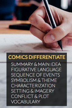 Comic strips provide instantaneous differentiation, believe it or not! You can do a wealth of different assignments and activities using comic strips, mind maps, and storyboards. All of these lend to differentiating your instruction, engaging learners, and contributing to academic growth.