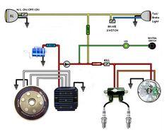 Kickstart only wiring diagram