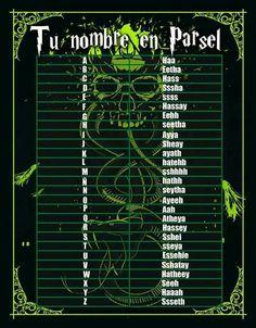 Idioma parsel