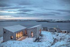 erstaunliche norwegische kabinen um die nordlichter zu beobachten beobachten erstaunliche kabinen
