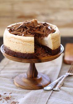 מתוקים שלי: עוגת גבינה קפוצ'ינו, בראוני ושוקולד ג'נדויה
