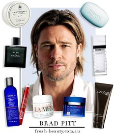 The men's beauty products that Brad Pitt adores