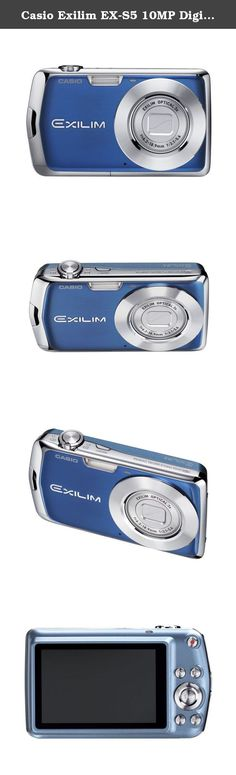Casio Exilim EX-S5 10MP Digital Camera with 3x Optical Zoom and 2.7 inch LCD (Blue). Image resolution up to 3264 x 2448 4x digital zoom Features Face Detection Technology Customizable focusing frames and menu screens Easy Mode simplifies the camera settings to 3 easy menus (image size, flash and self timer) Movie button.