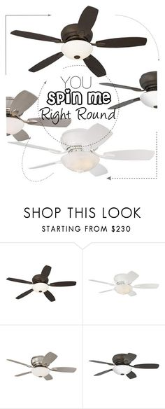 """""""Ceiling Fans"""" by lampsplus ❤ liked on Polyvore featuring interior, interiors, interior design, home, home decor, interior decorating, Casa Vieja and Home"""