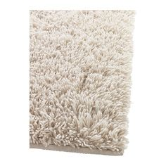 IKEA Gaser High Pile Rug Beige it is really silvergrey and
