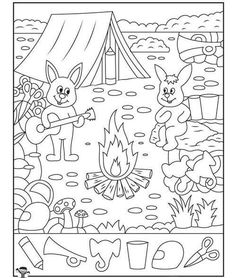 Summer Camp Hidden Pictures Page Find 6 detaljer The post Summer Camp Hidden Pictures Page appeared first on Summer Diy. Camping Theme, Go Camping, Camping Ideas, Outdoor Camping, Highlights Hidden Pictures, Hidden Pictures Printables, Hidden Picture Puzzles, Hidden Objects, Summer Activities For Kids