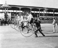 Bicycle Racing...