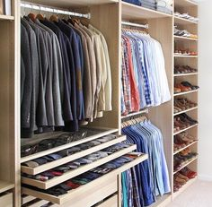 As we start to think about a fall wardrobe we feature this closet of the week from @thepacman82