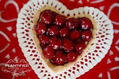 Heart Tarte Aux Fruits (Vegan, Egg free, Dairy Free, Gelatine Free)