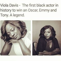 It's not true (whoopi goldberg deserves the honour), but I'm pinning out of appreciation for the actress because of course she still deserves to be celebrated for this accomplishment! And I really think she's amazing Black History Facts, Black History Month, Black Power, Big Sean, Black Girls Rock, Black Girl Magic, Nicki Minaj, By Any Means Necessary, Black Actors