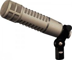 Electrovoice RE20 http://ehomerecordingstudio.com/dynamic-studio-microphone/