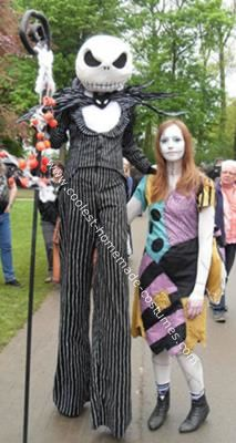 Coolest Homemade Jack And Sally Costumes Costumes Pinterest