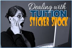 Dealing with tuition sticker shock
