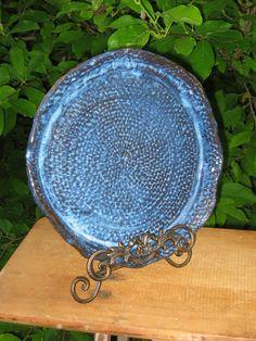Pottery Serving Tray Large Ceramic Platter by MalloryvillePottery, $60.00